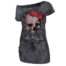 Női T-shirt Alchemy Top Texas - AEA Dark Love