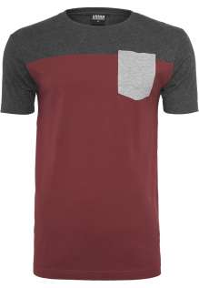 T-shirt 3-Tone Pocket