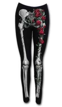 Női Legging ROSE BONES