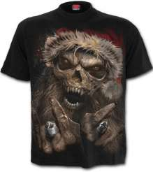 T-Shirt Spiral Direct Rock Santa
