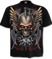 T-shirt Spiral Direct MACED SKULL